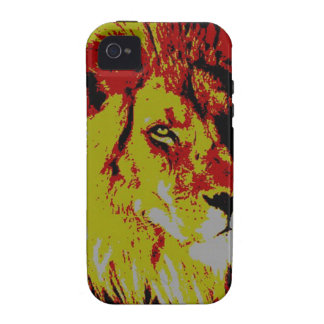 PopArt Lion Case-Mate iPhone 4 Cover