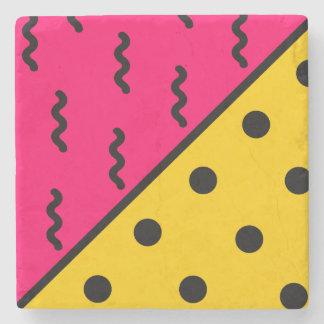 PopArt Pattern Stone Coaster