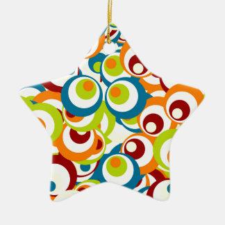 Popart sample ceramic ornament
