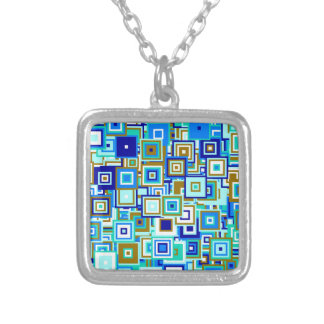 Popart sample silver plated necklace