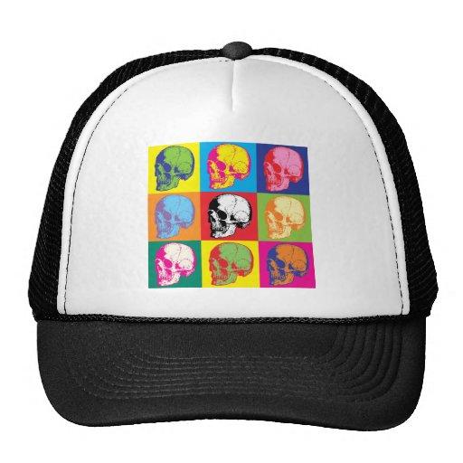 Popart skulls hats