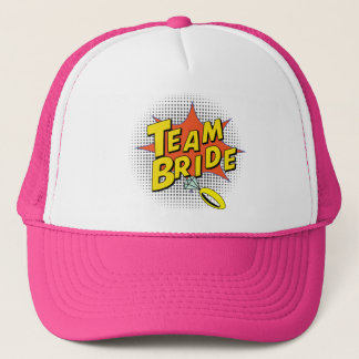 Popart Team Bride Trucker Hat