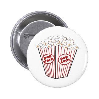 Popcorn 2 Inch Round Button