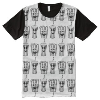 popcorn and soda All-Over-Print T-Shirt