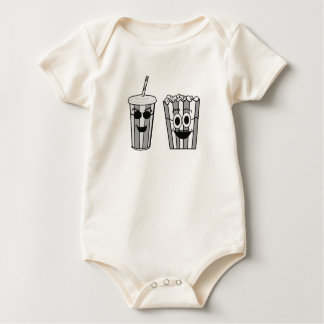 popcorn and soda baby bodysuit