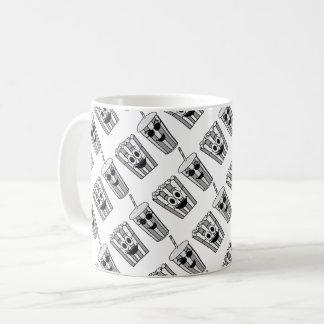 popcorn and soda funny coffee mug