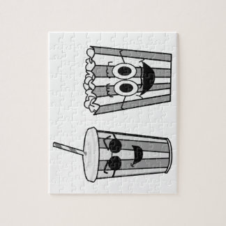 popcorn and soda jigsaw puzzle