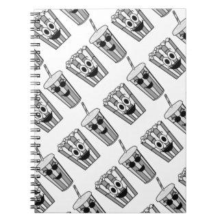 popcorn and soda notebooks