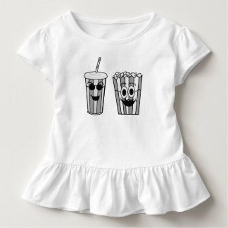 popcorn and soda toddler t-shirt