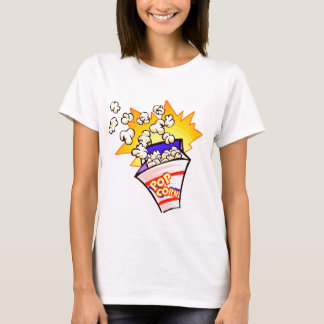 popcorn animated T-Shirt