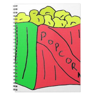POPcorn Art Note Book