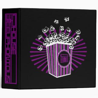 Popcorn Avery Binder
