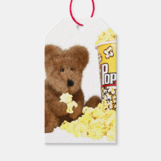 Popcorn Bear Gift Tags Pack Of Gift Tags