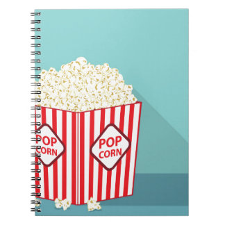 Popcorn bucket notebooks