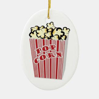 Popcorn Ceramic Ornament