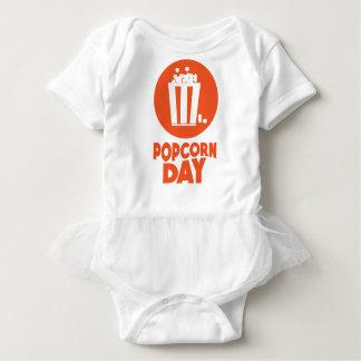 Popcorn Day - Appreciation Day Baby Bodysuit