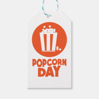 Popcorn Day - Appreciation Day Gift Tags