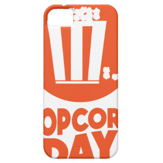 Popcorn Day - Appreciation Day iPhone 5 Cover