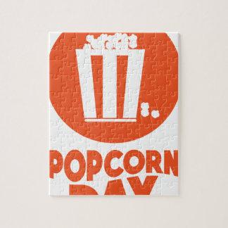 Popcorn Day - Appreciation Day Jigsaw Puzzle