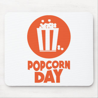 Popcorn Day - Appreciation Day Mouse Pad