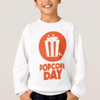 Popcorn Day - Appreciation Day Sweatshirt