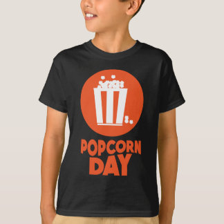Popcorn Day - Appreciation Day T-Shirt