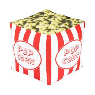 Popcorn Funny Movie Theme Pouf