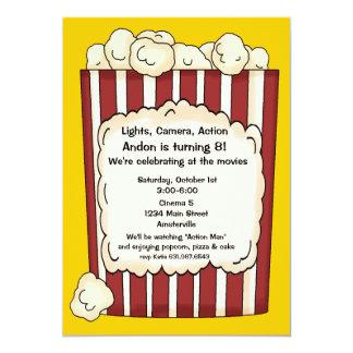 Popcorn Invitation