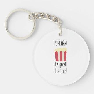 Popcorn! its great Zbzkp Keychain