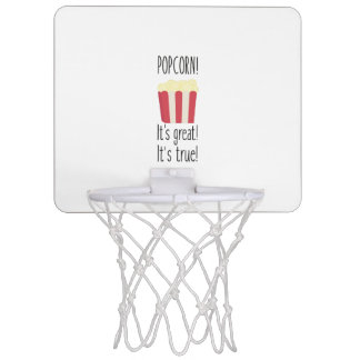 Popcorn! its great Zbzkp Mini Basketball Hoop