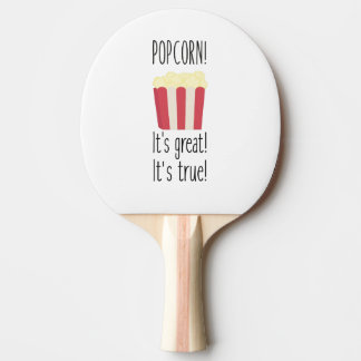 Popcorn! its great Zbzkp Ping Pong Paddle