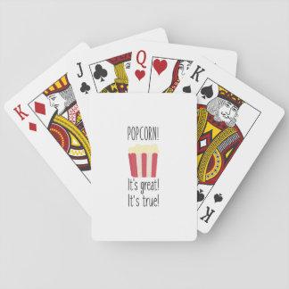 Popcorn! its great Zbzkp Poker Deck