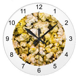 Popcorn Large Clock