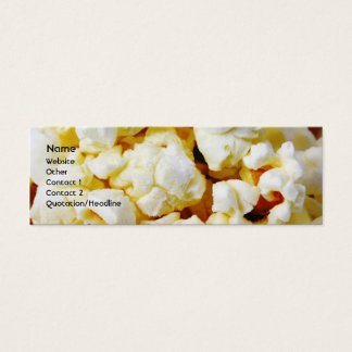Popcorn Mini Business Card