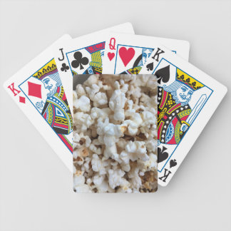 Popcorn Photo Bicycle Playing Cards