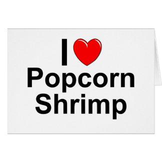 Popcorn Shrimp Card