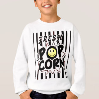 Popcorn Smiley Face Sweatshirt