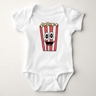 popcorn smiling baby bodysuit