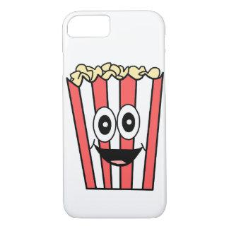 popcorn smiling Case-Mate iPhone case