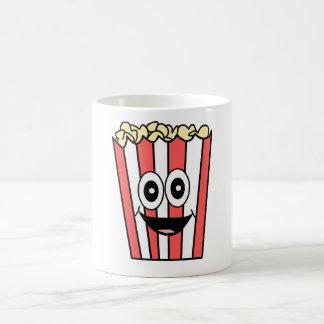 popcorn smiling coffee mug
