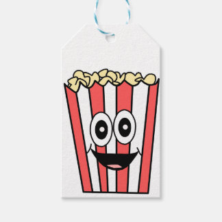 popcorn smiling gift tags