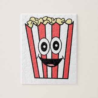 popcorn smiling jigsaw puzzle