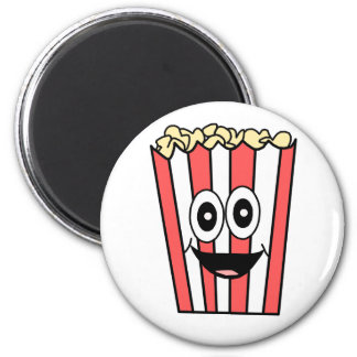 popcorn smiling magnet