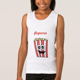 popcorn smiling tank top