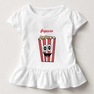 popcorn smiling toddler t-shirt