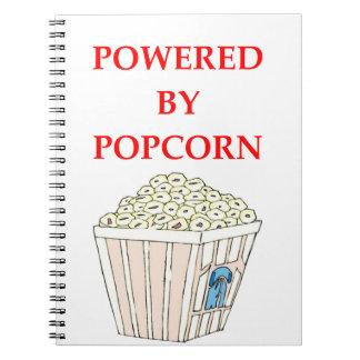 POPCORN SPIRAL NOTE BOOK