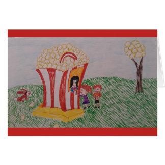 Popcorn Time! Card
