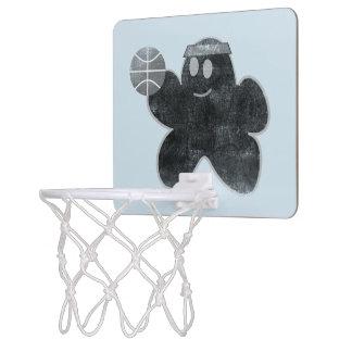 Popcorn vs Nacho grunge Basketball Goal Mini Basketball Hoop