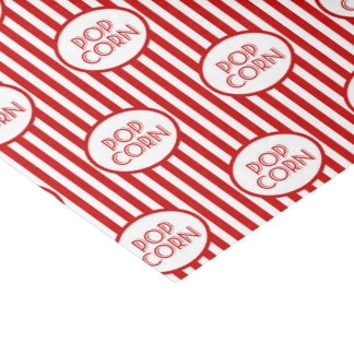 Popcorn word art party fun tissue tissue paper