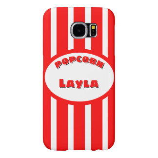 Popcorn Your name Samsung Galaxy S6 Case